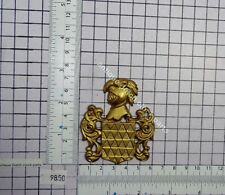ORNAMENT FOR FRENCH MANTEL CLOCK KNIGHT SHIELD
