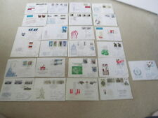 More details for postage stamps ddr 1980s envelopes