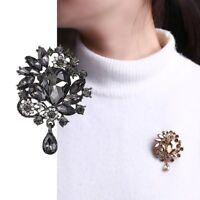 DIY Bouquet Wedding Bridal Crystal Rhinestone Brooch Pin Women Costume Jewelry