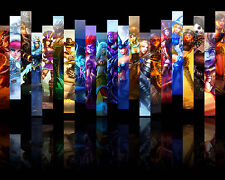 League of Legends LOL 24 Poster Art Print Gamers Wall Decoration 20x16 Inches