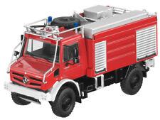 Mercedes Benz Unimog U 5023 Fire Brigade 1:50 New Boxed NZG