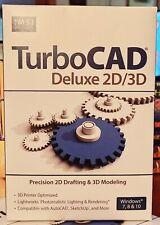 IMSI Design TurboCAD Deluxe 2D/3D 2D Drafting & 3D Modeling For Windows