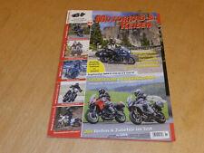 Motorrad & Reisen 88/2018, Yamaha Tracer 900 GT, Multistrada 950, Harztour