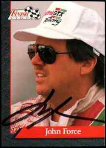 John Force Pro Set NHRA Hand Signed Authentic Autographed Trading Card #1 NM-MT