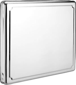 JOCCA 6414 Stainless Steel Hob Cover Protector, Silver