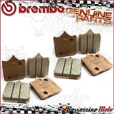 8 PLAQUETTES FREIN AVANT BREMBO FRITTE MOTO GUZZI MGS-01 CORSA 1200 2005 2006