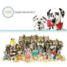 Savannashops Dog Nativity Dalmatian Gifs - Nativity Sets - Dalmatian Lover Gifts