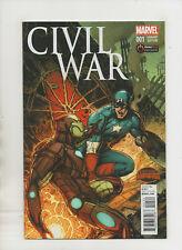 Civil War Secret War #1 - Gamestop Exclusive Variant Cover - (Grade 9.2) 2015