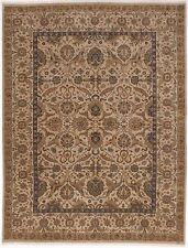 """NLR 101 Handmaade Indian rug. 9'2""""x 12'"""