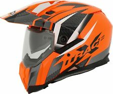 Enduro Motorcycle Helmet > Caberg X-Trace Adventure - Savana Orange/Black/Anth
