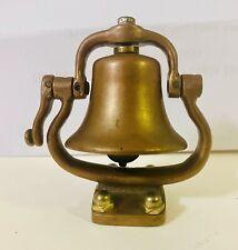 Vintage Rare Brass Toy Bell - Steam Engine, Boiler, Train, Super nice Look