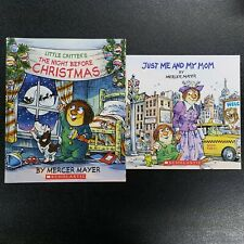 Lot of 2 Mercer Mayer Children Books Scholastic