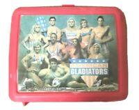 American Gladiators Aladdin Plastic Lunch Box with Thermos TV Show