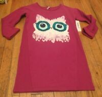 FABKIDS GIRLS SIZE XL (12) GORGEOUS OWL DRESS NEW WITH TAGS