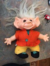 "Vintage 1960's Scandia House Troll Doll 11"""