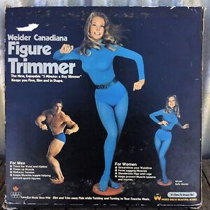 NEW VINTAGE In Box WEIDER CANADIANA FIGURE TRIMMER Betty Brosmer Schwarzenegger