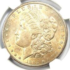 1884-S Morgan Silver Dollar $1 - NGC Uncirculated Details (UNC MS) - Rare Date!