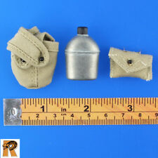 Dragon Parts - US WWII Canteen (Metal) & First Aid - 1/6 Scale - Action Figures