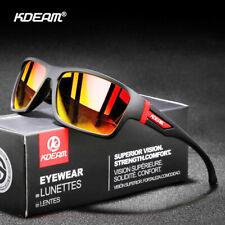 Kdeam Sport Gafas de Sol Polarizadas Hombre Mujer Ciclismo al Aire Libre Anteojos para Manejar Gafas de UV400