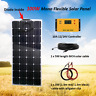 100W Solar Panel Kit System with 10A 12/24V Controller RV Boat Camping off Grid