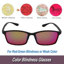 BP-032 Unisex Color Blindness Glasses Color Weakness Correction Eyewears New