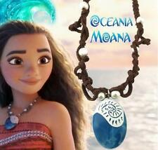 Hot Moana Princess Vaiana Necklace Principessa Cosplay Props Pendant Jewelry
