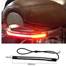 12V LED Scrambler Brake Tail Light Turn Signal For Bobber Cafe Racer Motorcycle