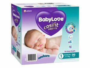 BabyLove Nappies Newborn Jumbo 99 Pack