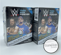 2017 Topps WWE Then Now Forever Blaster (2 Box Lot) Factory Sealed