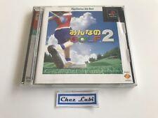 Everybody's Golf 2 - Sony PlayStation PS1 - NTSC JAP - Avec Notice