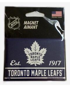 "Toronto Maple Leafs NHL Ice Hockey  Logo 2.5"" x 3.5"" Kitchen Home Fridge Magnet"