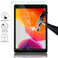 For iPad 7th Generation 10.2'' 2019 Tablet Tempered Glass Screen Protector Cover