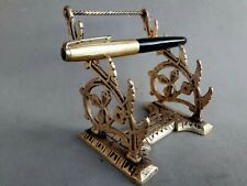 Antique Cast Bronze Pen Holder