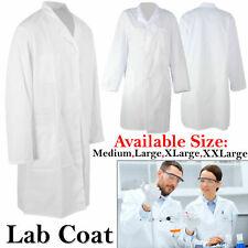 Lab Coat Hygiene Food Warehouse Industry Laboratory Doctors Medical White Coat