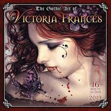 The Gothic Art of Victoria Frances Calendar 2019 Art Month To View New