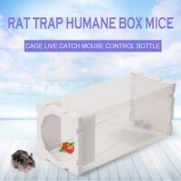 1X(piege a rats, boites de rats sans cruaute, cage de rats en direct, attrape 8T