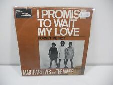 "MARTHA REEVES AND THE VANDELLAS - I ROMISE TO WAIT DISCO  45 GIRI 7 """
