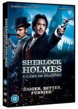 Sherlock Holmes a Game of Shadows 5051892110686 With Jude Law DVD Region 2