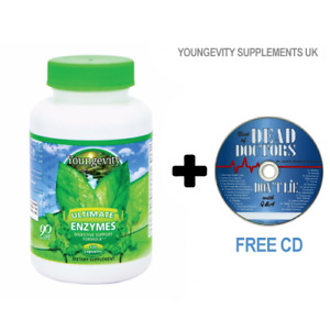 Youngevity Ultimate Enzymes - 120 Capsules