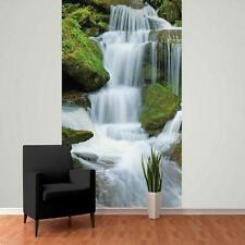 1 WALL GIANT PHOTO WALLPAPER JUNGLE FOREST WATERFALL POSTER MURAL 2.32 x 1.58m