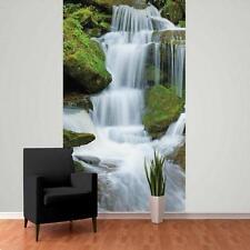 1 PARETE GIGANTE FOTO WALLPAPER FORESTA GIUNGLA CASCATA POSTER DA 2.32 x 1,58 m