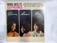 Vintage More Hits By The Supremes LP Vinyl Record 1965 Original Pressing