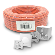 Cat 7 verlegekabel 100m cable de red 1x red lata cat6a lata LAN s/cable FTP
