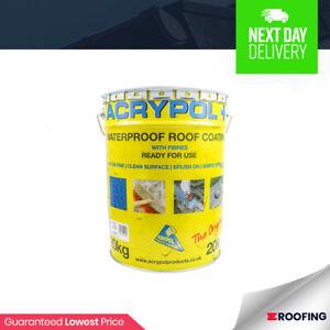 Acrypol+ Flat Roof Waterproofing Solution 20kg drum in Black