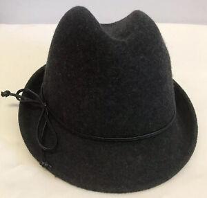 TOMMY BAHAMA hat fedora Wool Women's One Size Gray Nice