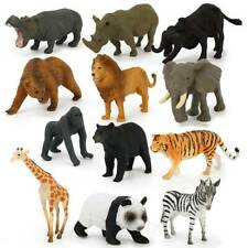 Pack of 68 Plastic Farm Yard Figure Wild Animals Kids Toys Party Bag Favor