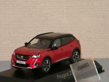 1 43 NOREV Peugeot 2008 GT 2020 Redmetallic/black