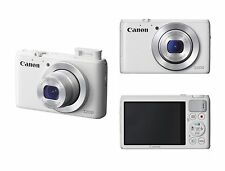 Canon PowerShot S200 10.1MP Digital Camera - White / 000769