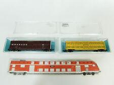 bd436-0, 5 #2x ATLAS ESCALA N / DC coches: 3543 y P 3546 Wabash, NUEVO + OVP