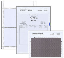 Pay Slips.Laser Pay Advice Envelopes. Suitable for Myob, Quicken, Attache etc...